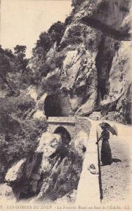 LES GORGES DU LOUP, La Nouvelle Route au Sant de l´Echelle, Provence-Alpes-C...