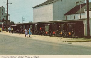 ARTHUR , Illinois, 1950-1960s ; Greetings from Illinois Amish Country