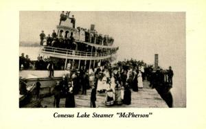 NY - Finger Lakes,Conesus Lake Steamer McPherson. Later became Star Rucca...