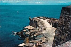 Puerto Rico San Juan Castillo San Felipe del Morro