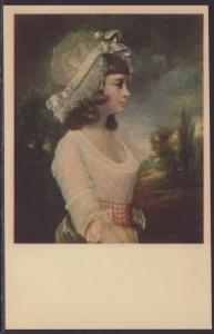 Miss Theresa Parker,Sir Jousha Reynolds Painting