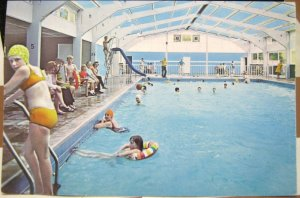 England Heated Swimming Pool Kingsdown Holiday Camp Kent - posted 1971