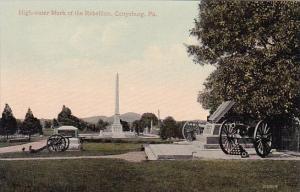 Pennsylvania Gettysburg High Water Mark Of The Rebellion