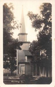 Osceola Pennsylvania ME Church Real Photo Antique Postcard K95668