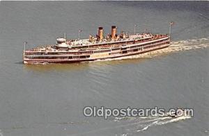 Alexander Hamilton, Hudson River Day Line's Ship Hudson River, Sept 1970 Ship...