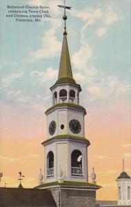 Maryland Frederick Reformed Church Spire