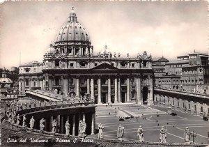 Citta del Vaticano Piazza S Pietro Italy Postal Used Unknown