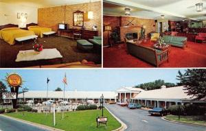 Washington DC~Quality Inn Governor~Huge Rooms 1960s Postcard