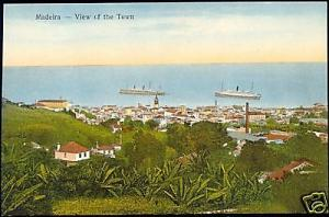 portugal, MADEIRA, View of the Town (1910s)