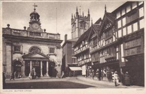 LUDLOW, Shropshire, England, United Kingdom; Butter Cross, 10-20s