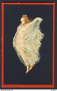 Pompei - Villa c.d.di Cicerone ~ Baccante ~ Nude red headed woman, sheer wrap -