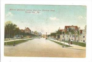 Admiral Boulevard, Looking West From Charlotte Street, Kansas City, Missouri,...