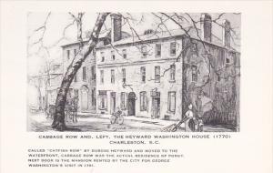 Cabbage Row and Heyward Washington House by Elizabeth O'Neill Verner Charlest...