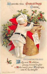 Holiday Postcards International Art Publishing Co. Writing on back