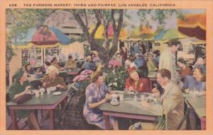 California Los Angeles The Farmers Market Third And Fairfax