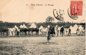 Military WW1 Camp d'Auvours Le Pansage 01.37