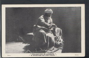 Occupations Postcard - Palestine in London, A Painter of Pottery    RS18489