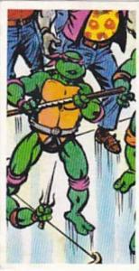 Brooke Bond Tea Trade Card Teenage Mutant Hero Turtles 1990 No 10 Donatello