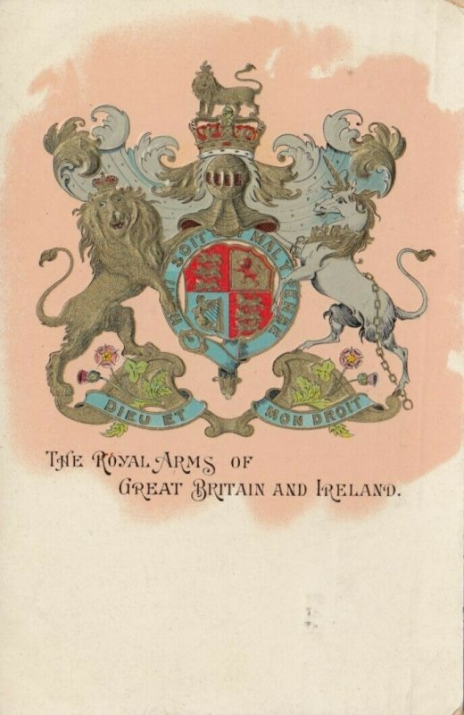 Great Britian & Ireland , UK, 1911 ; Coat of Arms