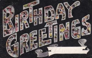 Birthday Greetings 1910 Climax North Carolina