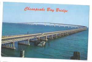 Chesapeake Bay Bridge Tunnel 20 Mile Long Virginia Postcard