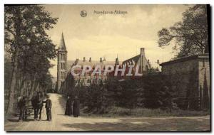 Old Postcard Maredsous Abbey Sale Driving