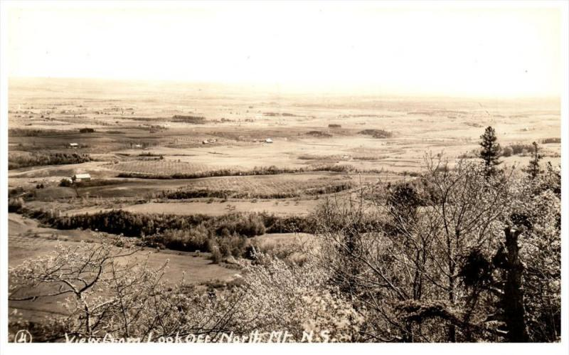 20331    Aerial View of  Annapolis Valley   Nova Scotia   from North Mtn.  RPC