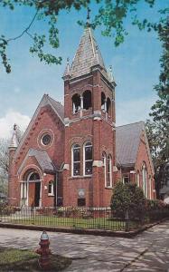 Exterior,  St. Mary's Catholic Church,  Georgetown,  South Carolina,   40-60s