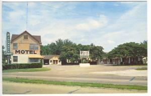 Fort Smith AR Blackburn Court Motel AAA Rated Courtesy Coffee Postcard