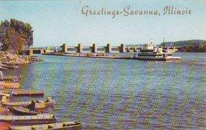 Illinois Savanna Greetings Savanna