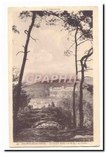 Cars of & # 39Orne Old Postcard The grand hotel saw the dog rock