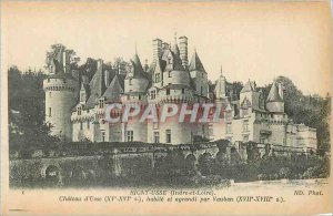 Postcard Old Rigny Usse (Indre et Loire) Chateau d'Usse (fifteenth sixteenth S)