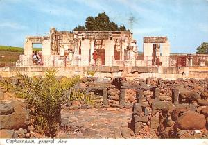 Capharnaum Israel Ruins of the ancient Synagogue Capharnaum Ruins of ancient ...