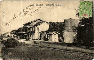 CPA AK Fortier 10, Rufisque- La Gare, SENEGAL (761961)