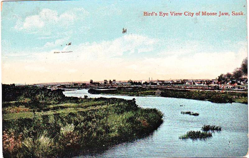 Bird's Eye View City of Moose Jaw, Sask