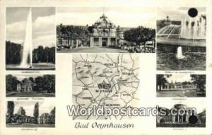 Bad Oeynhausen Germany, Deutschland Postcard Kurtheater Flimbuhne Bad Oeynhau...
