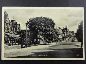 Yorkshire HARROGATE Royal Hall & Parliament Street c1955 Postcard by J. Salmon