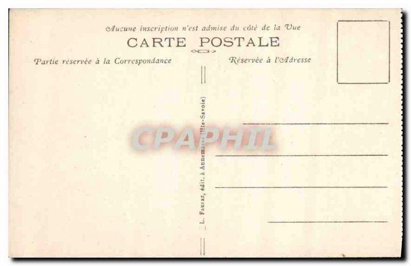 Old Postcard Chamonix Haute Savoie Praz
