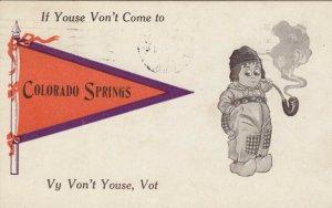 COLORADO SPRINGS , 1913 ; Pennet Greetings