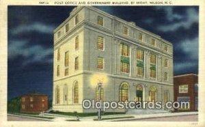 Wilson, NC USA Post Office Unused