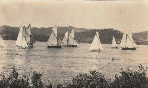 RP; Sail Boat Race , HOBART , Tasmania , Australia , 1900-10s