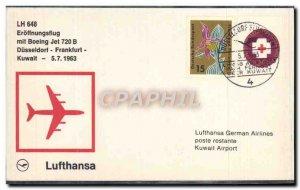 Letter Dusseldorf Frankfurt Kuwait 7 May 1963 Lufthansa