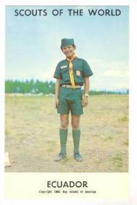 Ecuador Boy Scout, 1968