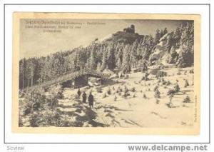 Tefchken=Rodelbahn bei Reichenberg i. Deutschbohmen, Czech Republic, PU 1920s