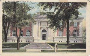 Utica Library , Utica, New York , PU-1922
