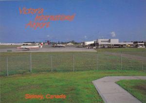Airplanes , Airport , Victoria , B.C. , Canada ,  60-70s