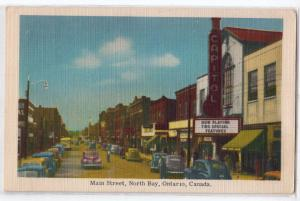 Main St, North Bay Ont