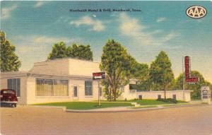 A37/ Humboldt Tennessee Tn Postcard Linen Motel & Grill ROadside