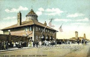 State Bath House - Revere Beach, Massachusetts MA