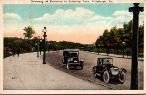 Pennsylvania Pittsburgh Schenley Park Driveway At Entrance